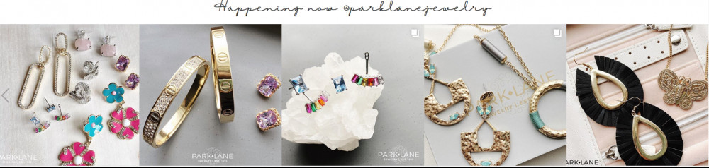 Images of jewels by Park Lane