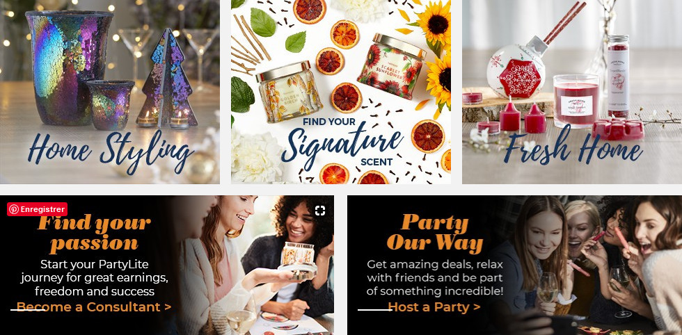 Partylife products to signify Scentsy vs Partylife