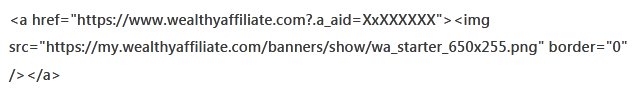 WA banner link to show how banner links look lie