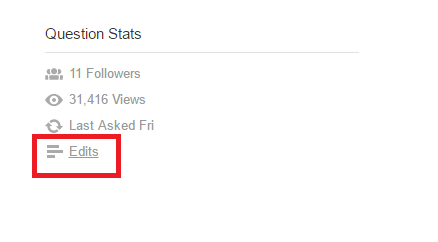 Question Stats as place to find how long question has been waitiing for answer or been gettng answered